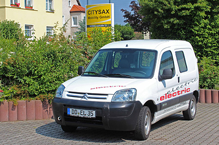 Citroën Berlingo electrique (neues Modell)